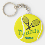Personalized Tennis Keychain Tennis Team Gifts