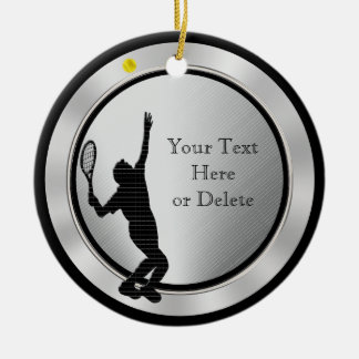 Personalized Tennis Ornaments for Men