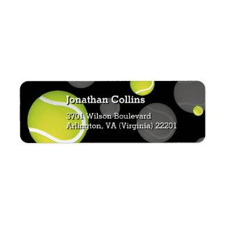Personalized Tennis   Sport Return Address Label