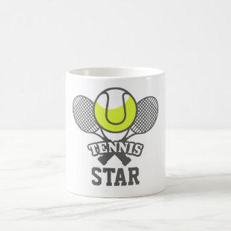 Personalized Tennis Star Coffee Mug
