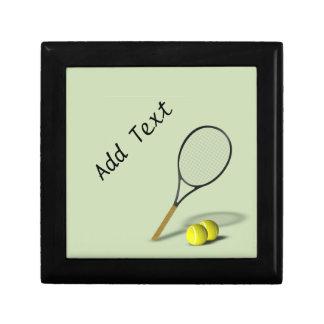 Personalized Tennis Trinket / Gift Box