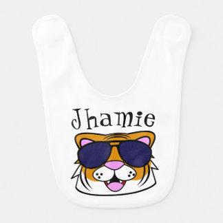 Personalized Terrific Tiger Bib