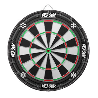 Personalized Text Dart Boards