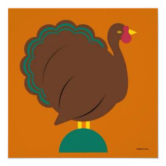 Personalized Thanksgiving Invitation