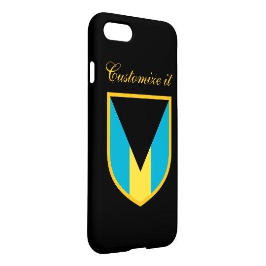 Personalized The Bahamas Flag iPhone 8/7 Case