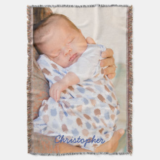 Personalized Throw Blanket Add Photo And Text