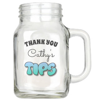 Personalized Tips Jar