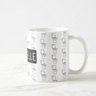 Personalized Toilet Coffee Mug