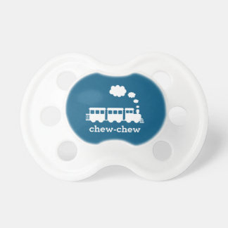 Personalized Train Pacifier - Pick Your Color!