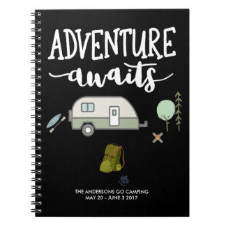 Personalized Travel Journal Note Book