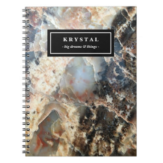 Personalized Trendy Speckle Notebook