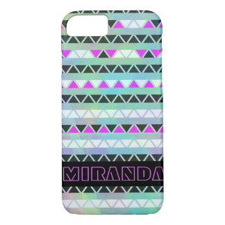 Personalized Triangle Bands iPhone 7 Case