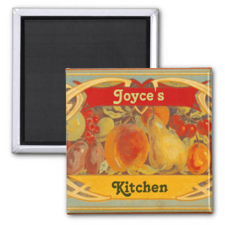 Personalized Tuscan Kitchen Magnet