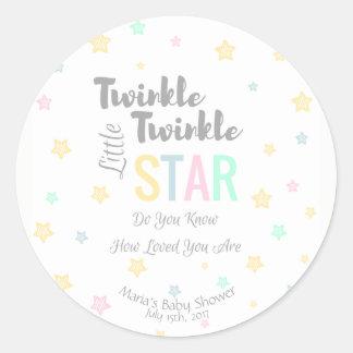 Personalized Twinkle Twinkle Little Star - Sticker