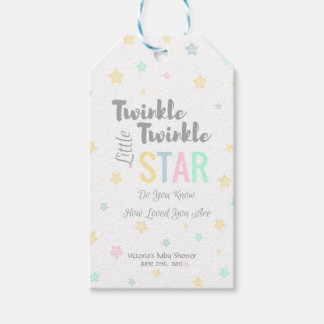 Personalized Twinkle Twinkle Little Star - Tags