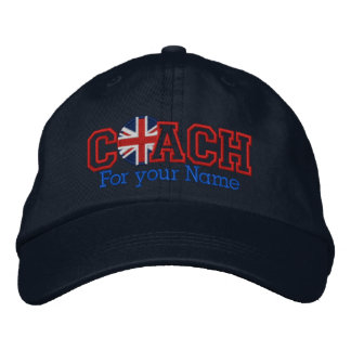 Personalized UK Coach with your name Baseball Cap