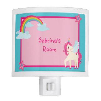 Personalized Unicorn Rainbow Night Light