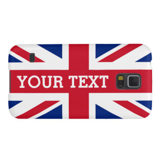 Personalized Union Jack Flag Galaxy S5 Case