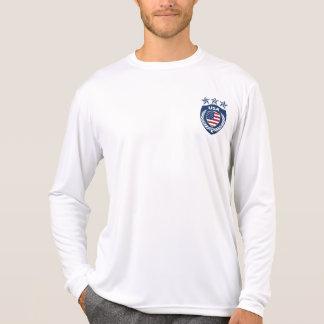 Personalized USA Jersey Micro-Fiber Long Sleeve T-Shirt