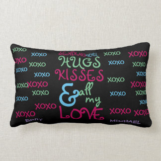 Personalized Valentines Gift 4 HER Wife Girlfriend Lumbar Pillow