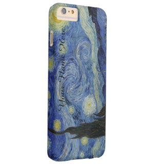 Personalized Van Gogh Starry Night Barely There iPhone 6 Plus Case