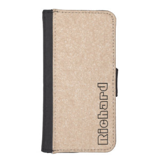 Personalized Vegan Leather iPhone 5/5s Wallet Case