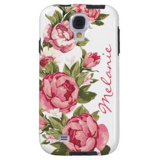 Personalized Vintage blush pink roses Peonies