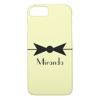 Personalized Vintage Bow Phone Case