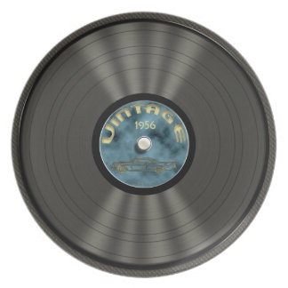 Personalized Vintage Vinyl Record Plate