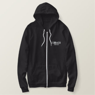 Personalized Volleyball Coach Zip Hoodie