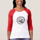 Personalized Volleyball Player Number, Name, Team T-Shirt