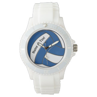 Personalized Volleyball Watch for Her, Your Color
