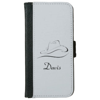 Personalized Wallet Phone Case With Cowboy Hat
