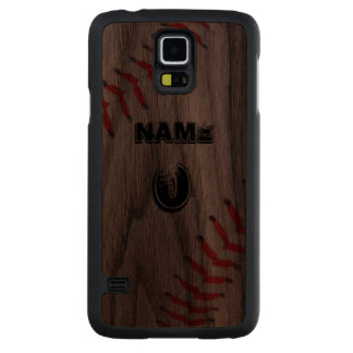 Personalized Walnut phone case
