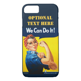 Personalized We can do it iPhone 8/7 Case