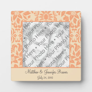Personalized Wedding Tile Gift & Keepsake w/ Text Plaque