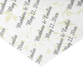 Personalized Wedding Tissue Paper