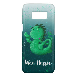 Personalized Wee Nessie Waves Hello! Case-Mate Samsung Galaxy S8 Case
