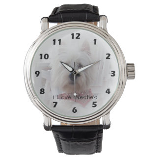 Personalized West Highland Terrier Design Watch