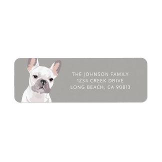 Personalized White French Bulldog