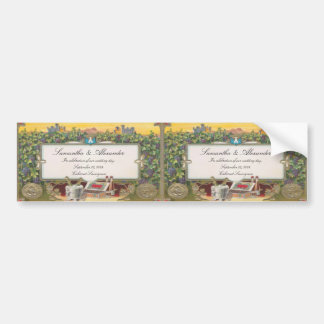 Personalized Wine Bottle Labels Bumper Size 2up