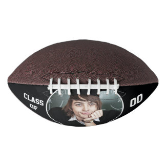 Personalized with Photo and Year Football