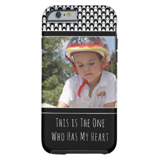 Personalized with Photo of Your Adorable Child Tough iPhone 6 Case