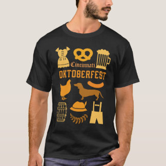 Personalized With Your City Cincinatti Oktoberfest T-Shirt