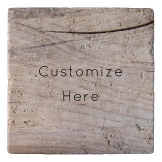 Personalized Wood Design Stone Trivet