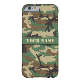 Personalized  Woodland Camouflage iPhone 6 Case