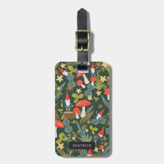 Personalized | Woodland Gnomes Luggage Tag