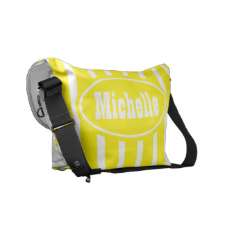 Personalized Yellow VS Western Courier Bag