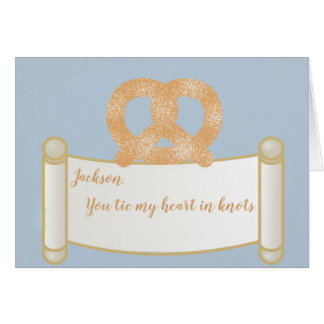 Personalized You Tie My Heart in Knots Card