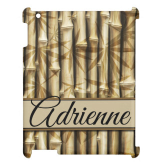 Personalized | Your Name | Elegant Bamboo Wood Cover For The iPad